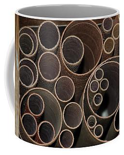 Round Sandpaper Coffee Mug