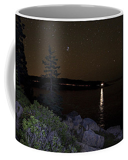 Rounding Otter Point Coffee Mug by Brent L Ander