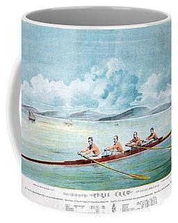 Rowing Team, C1875 Coffee Mug