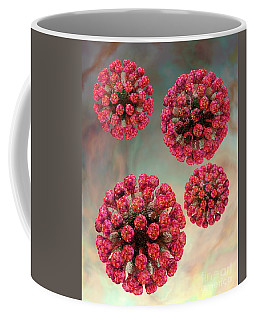 Rubella Virus Particles Coffee Mug