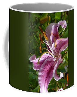 Coffee Mug featuring the photograph Rubrum Lily by Carla Parris