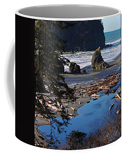 Ruby Beach IIi Coffee Mug by Jeanette C Landstrom