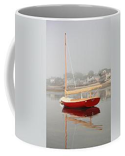 Ruby Red Catboat Coffee Mug