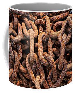 Rusty Ships Chain Coffee Mug