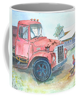 Rusty Truck Coffee Mug by Christine Lathrop