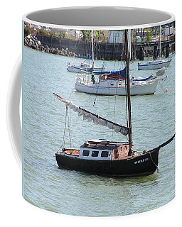 Coffee Mug featuring the photograph Sailboats Of Bellingham Bay by Rand Swift