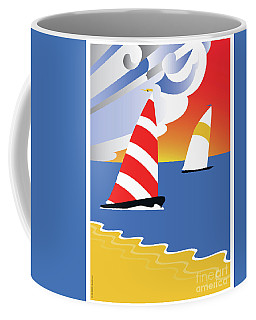 Sailing Before The Wind Coffee Mug