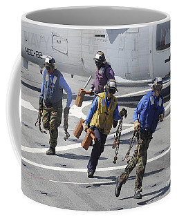 Sailors Remove The Chocks And Chains Coffee Mug