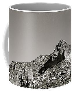 Salt River Black And White Coffee Mug by Pamela Walrath