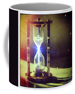 Sand Through Hourglass Coffee Mug