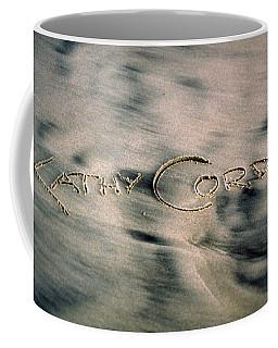 Sandscript Coffee Mug