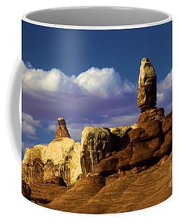 Santa's Sleigh At Canyonlands Coffee Mug