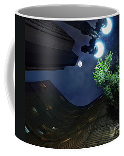 Copan Building And The Moonlight Coffee Mug