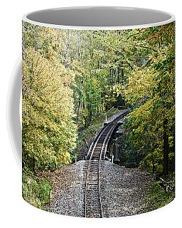 Scenic Railway Tracks Coffee Mug