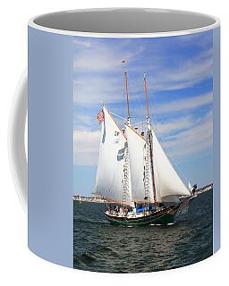 Schooner Thomas E Lannon Coffee Mug