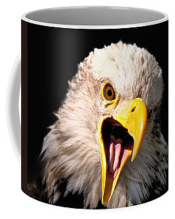 Screaming Eagle II Black Coffee Mug
