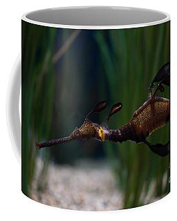 Sea Dragons Coffee Mug by Carol Ailles