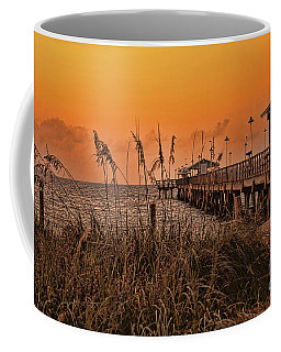 Sea Oats At Dawn Coffee Mug by Anne Rodkin