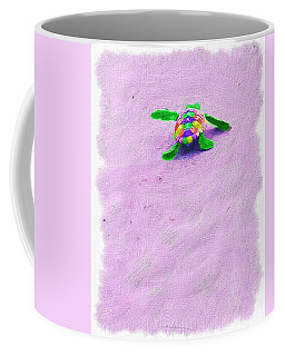 Sea Turtle Escape Coffee Mug