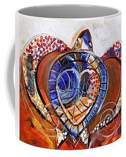 Sea Turtle Love - Orange And White Coffee Mug