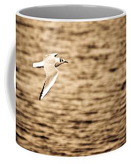 Seagull Antiqued Coffee Mug