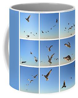 Seagull Collage 2 Coffee Mug