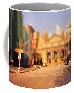 Seaport Tiltshift Coffee Mug by EricaMaxine  Price