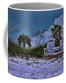 Seat On The Dunes Coffee Mug