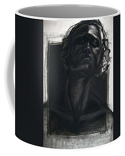 Coffee Mug featuring the drawing Self Portrait 2008 by Gabrielle Wilson-Sealy