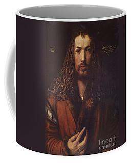 Self Portrait  Durer Coffee Mug by Pg Reproductions