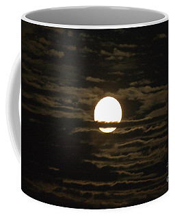 Coffee Mug featuring the photograph Seneca Lake Moon by William Norton