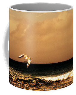 Sennen Seagull Coffee Mug by Linsey Williams