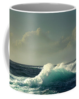 Sennen Surf Seascape Coffee Mug by Linsey Williams