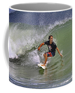 September Ponce Inlet Surfer Coffee Mug