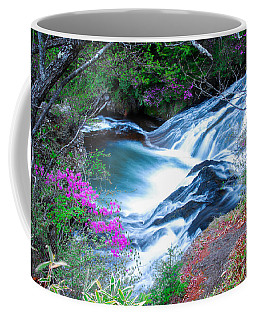 Serenity Flowing Coffee Mug by Jonah  Anderson