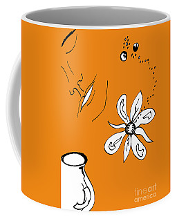 Serenity In Orange Coffee Mug