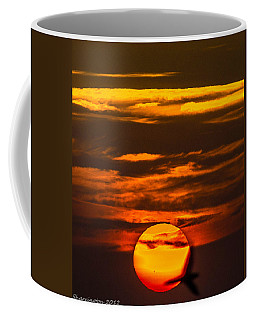 Setting Sun Flyby Coffee Mug