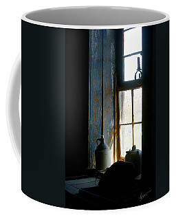 Coffee Mug featuring the photograph Shades Of Blue by Vicki Pelham