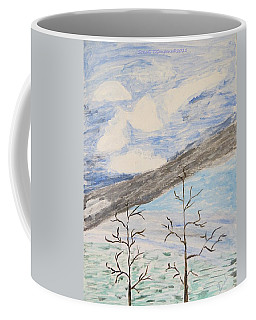 Coffee Mug featuring the painting Shades Of Nature by Sonali Gangane