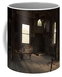Coffee Mug featuring the photograph Shadows Of Time by Fran Riley
