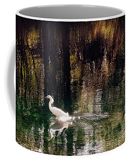 Coffee Mug featuring the photograph Shadowwaters by Lydia Holly