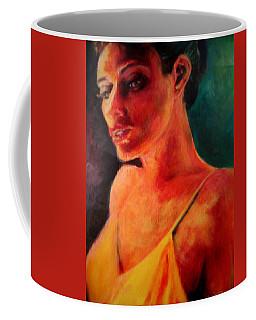 Shandra In Yellow Coffee Mug