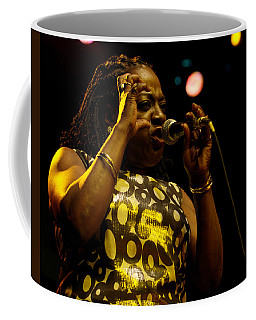 Coffee Mug featuring the photograph Sharon Jones by Jeff Ross