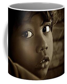 She Just Stared Coffee Mug