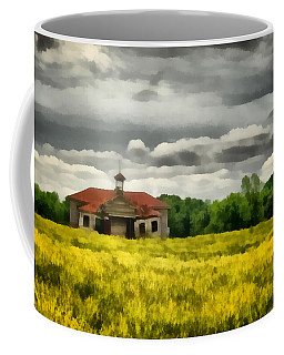 Coffee Mug featuring the painting Shiloh School by Lynne Jenkins