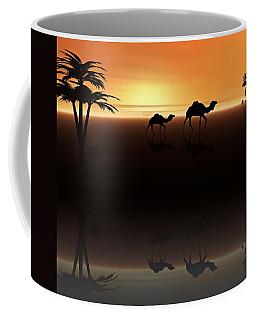 Ships Of The Desert Coffee Mug