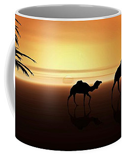 Ships Of The Desert Coffee Mug