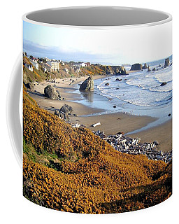 Coffee Mug featuring the photograph Shores Of Oregon by Will Borden