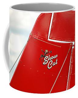 Show Cat Coffee Mug by Randy J Heath
