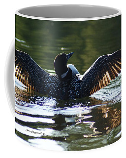 Showing Off Coffee Mug by Steven Clipperton